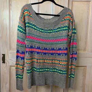 Colorful Sweater - American Eagle